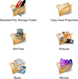 FirstClass Groupware Dateiablage Screenshot 1
