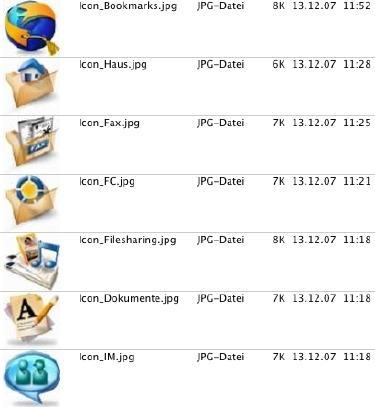 FirstClass Groupware Dateiablage Screenshot 2