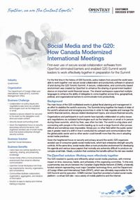 Open Text Social Media Flyer 03 Case Study